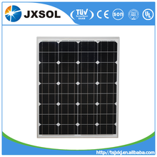 China photovoltaic module 80W Monocrystalline price per watt solar panels For big project