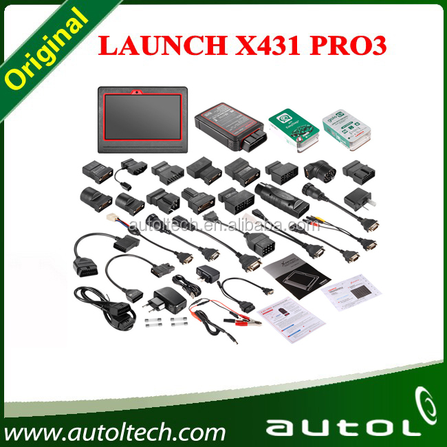 Launch Pro3 Car Diagnose Machine X-431 PRO3 Detector Diagnostic Tool for All Cars X431 Pro3