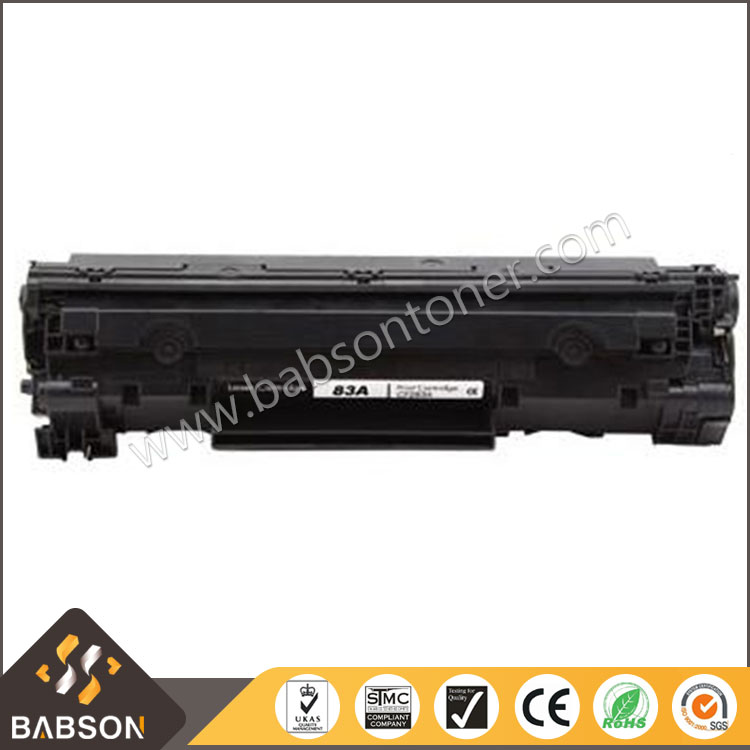 China Supplier Wholesale Black Laser Toner Cartridge for HP Printer CF283A 83A