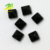 top quality square shape natural black agate stone price for loose gemstone