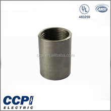 "China CCPI Factory UL Standard Straight-tapped Thread Connector 1/2""-6"" Stainless Steel Female Coupling Rigid Coupling/ Coupling"
