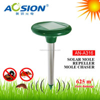 Aosion sales ABS materials yard solar power mover rodent repeller