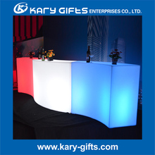 HOT Sale Color Changeable LED Table Light Up Furniture Counter Tables
