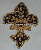 Hand Embroidered Byzantine Crosses