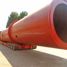 China professional PE and ISO approved rotary kiln supplier with low price