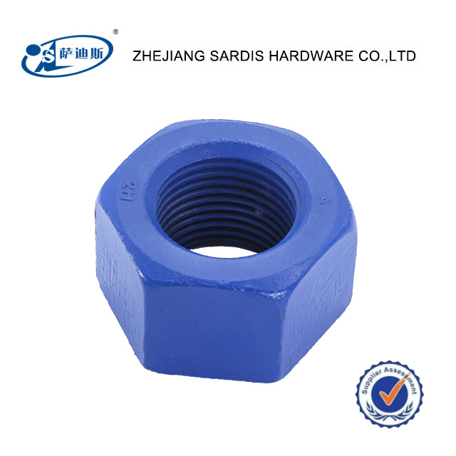 good sell heavy duty nut H2 blue plated