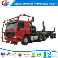 FOR 20MT 13TONS TIMBER wood transport truck HOWO 6X4 TIMBER LOGGING TRUCK 3 axles logging truck