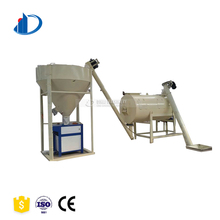 Low Cost Continuous Tile Adhesive Dry Construction Mixture Colored Epoxy Mortar Mixer