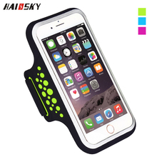 HAISSKY New Style Universal Smartphone Sports Running Forearm band/Armband case for iphone 6Plus/7 Plus,with money pocket cover