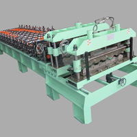 Glazed Tile Roofing Sheet Manufacturing Machine