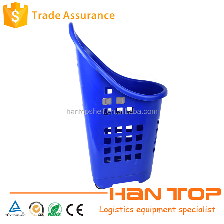 cosmetic chromed mesh shopping baskets for retail stores HAN-TB08 760
