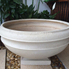 big white garden pot,garden big pots,garden flower pots