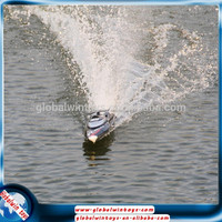 Fashional toy 1:10 large hard plastic boat big ship model brushless motor electric boat 2.4g 4ch rc speed boat/racing boat/yacht