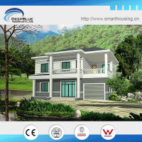 Beautiful Cheap Modern luxury prefab steel villa