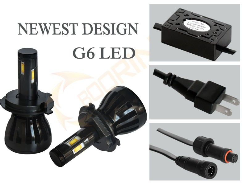 car led light All in one hid led headlights canbusG5 G20 led headlight 80w H7, H8, H9, H1,1 9005, HB3 ,9006, HB4 ,H10, h4 hi lo