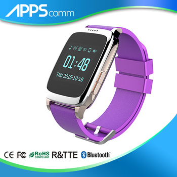 Sports monitoring heart rate wrist band pedometer wireless activity tracker