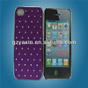 pc cell phone cases accessory,cell phone case with waterproof for iphone4/5,bling skin phone