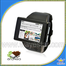 2inch mtk6515 latest wrist watch mobile phone