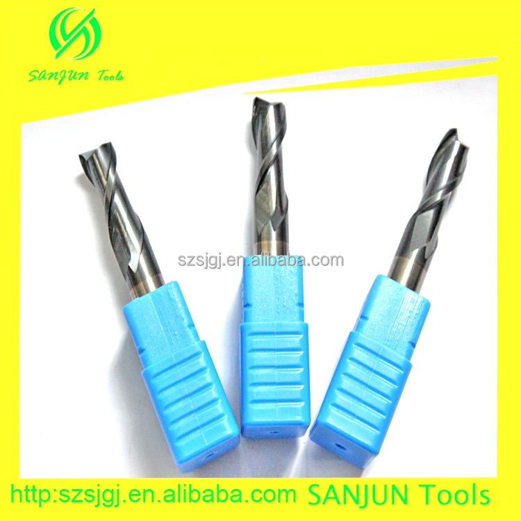 HRC45 Tungsten Steel Carbide Aluminium End Milling Cutter For Metal With High Quality