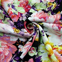 2015 online wholesaler printed viscose rayon fabric dresses