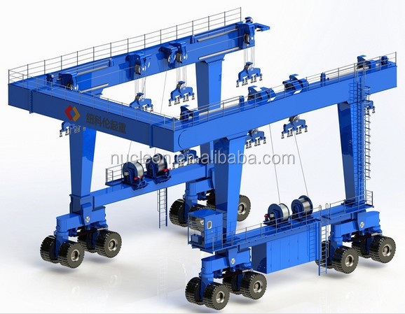 Nucleon Small Boat Lifting Gantry Crane