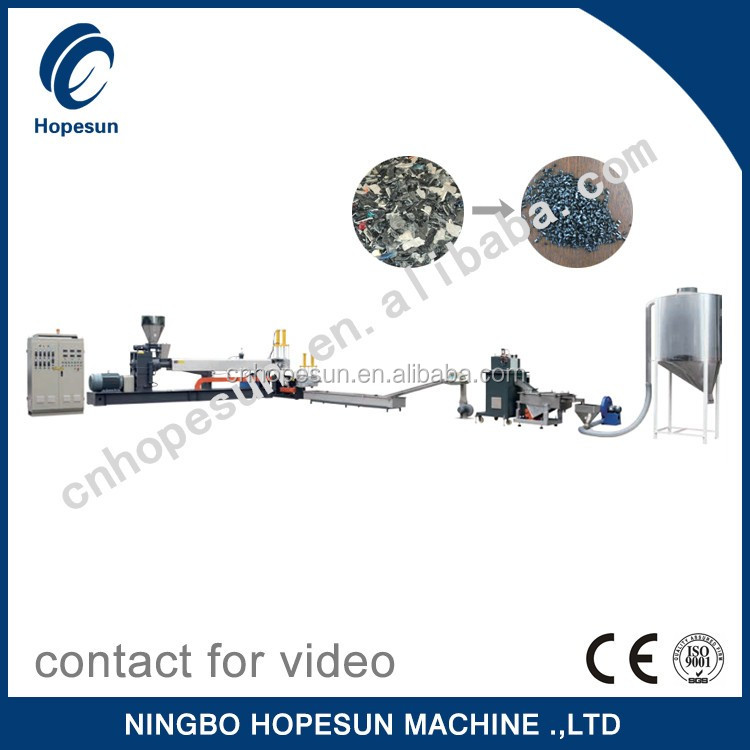 Professional PP,PE ,PS,ABS ,PET plastic recycling machine quality choice