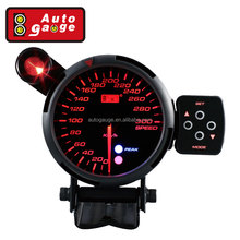 80 mm Various Types Measuring Analog Electronic Speedometer For car Smoke lens with Shift box