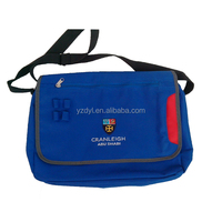 Soft promotional blue file bag portable briefcases bags