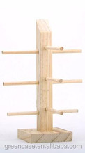 Natural Bamboo Sunglasses Show Display Wooden Display Rack for Sunglasses for Jewelry