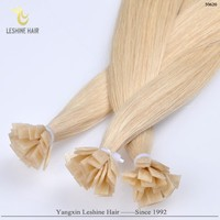 Alibaba+Express Buy Wholesale Quality Products Tangle&Shedding Free cheap price fan tip hair extensions