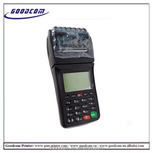 GOODCOM GT6000S China GPRS SMS point of sale system handheld pos and ticketing machine