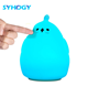 Cute Small Any Place Night Light Lamp Touch Sensor Silicone Night Light For Kids