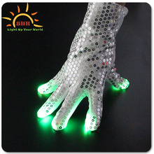 led magic gloves, led light costume