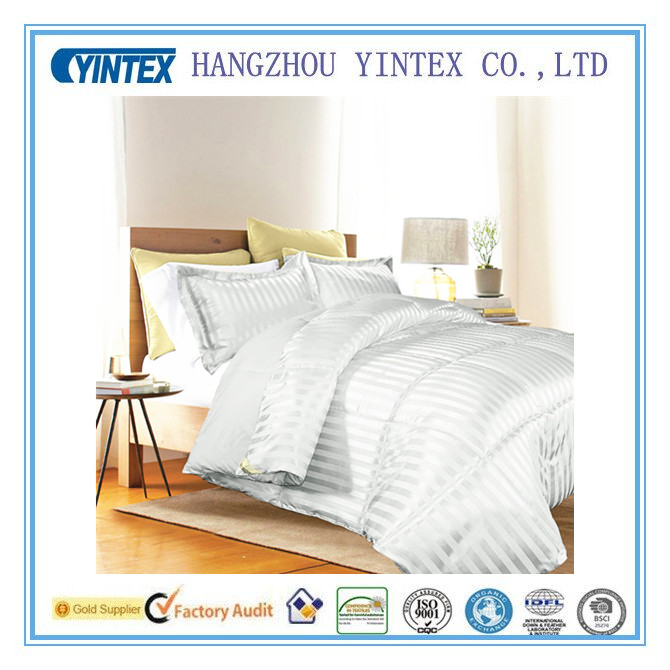 Classic 3-Piece Polyester Comforter&Bedding Sheet Set With Stripe Pattern