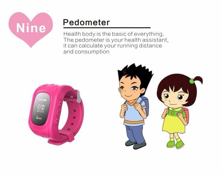 SOS/Location function wrist watch for kids GPS watch