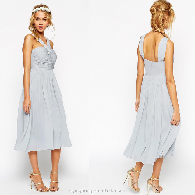 2015 Hot Sale Popular Elegant Sheath Sweetheart Unique Back Custom Made Bridesmaid Dress