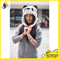 High Quality Western Hat Panda Pattern Hat And Cap Winter Hat Snapback
