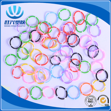 cheap neon small colored hair Rubber Bands for hair