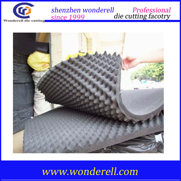 best price of High density rigid open cell pu foam polyurethane acoustic foam sheet custom size pu mat protective packaging