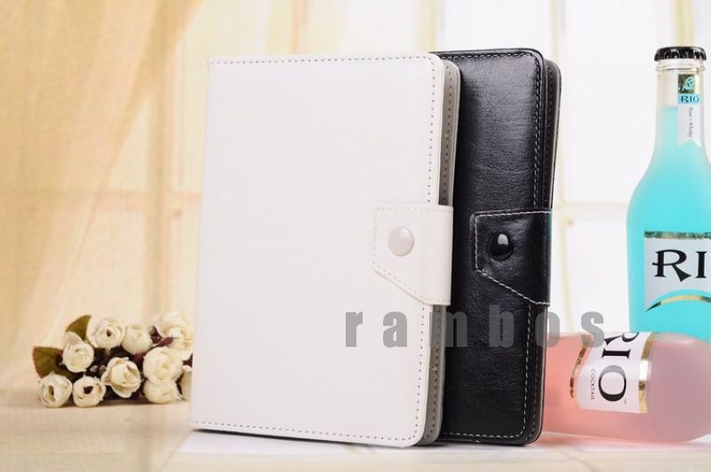 Folio Stand Universal 7 inch Leather Tablet PC Case Cover