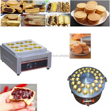 Hot sale Electric or gas heating Red Bean Cake machine Grill 32 holes wheel pie maker