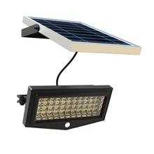 Separate Solar Panel Sunlight Charge Solar Outside Wall Lighting