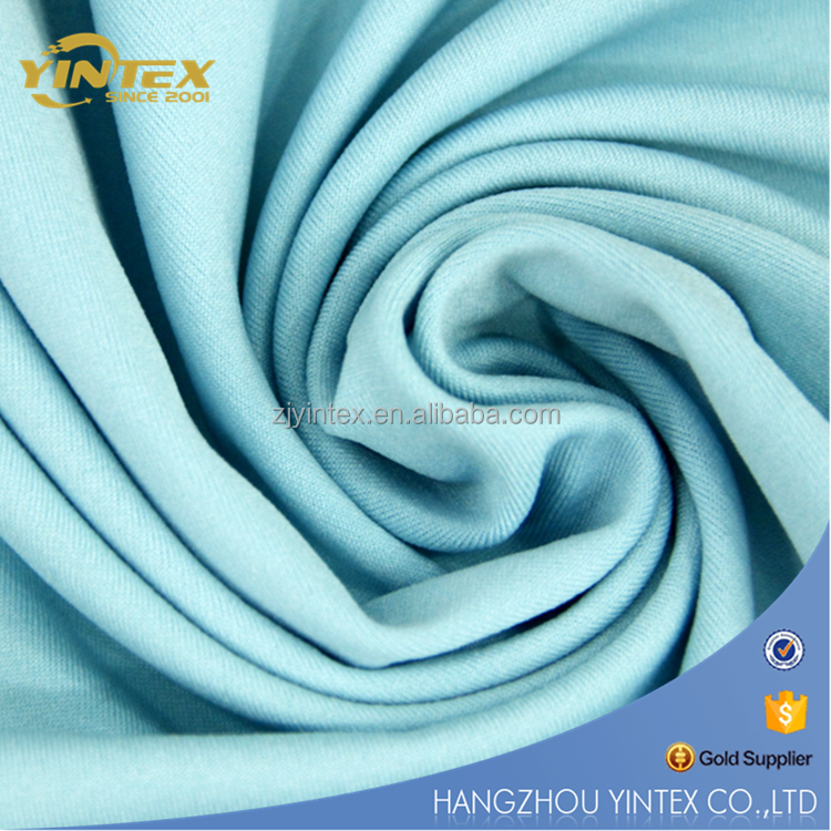 70% bamboo 30% cotton bamboo polyester knitted fabric