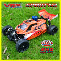 2013 hot sell 1:10 rc car,twospeed system nitro buggy