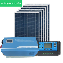 New type off grid 5000w shipping solar power system container home