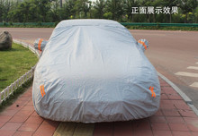 Factory Wholesale Cover Material---SILVER coated Car Cover Material-Waterproof UVanti Snow Protection