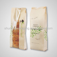 Kraft paper packing bags/bakery bread sandwich bag
