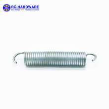 Manufacture Adjustable Stainless Steel Metal Coil Tension Spring with Hook
