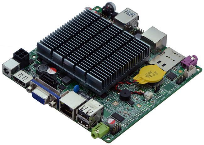 intel bay trail motherboard thin client j1900mini computer mainboard nano itx fanless mainboard