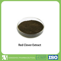 Hot sale 2.5%-80% Isoflavones Red Clover P.E Extract Powder